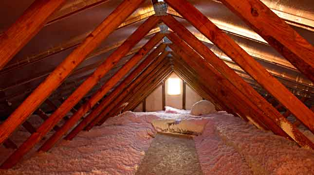 Attic Insulation, Blown In | Priority Pest Services