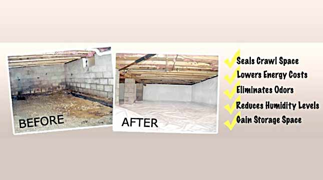 Dehumidifier System for Crawl Space | Priority Pest Services