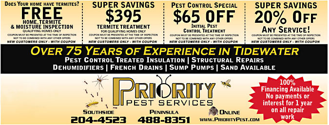 Free Home Termite Inspection Pest Control Coupons